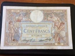 100 Francs 17-1-1935 - 100 F 1908-1939 ''Luc Olivier Merson''