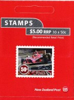 New Zealand 2009 Motorsport World Champions $5 Mint Booklet - Booklets