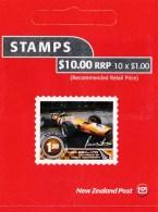 New Zealand 2009 Motorsport World Champions $10 Mint Booklet - Booklets