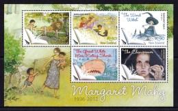 New Zealand 2013 Margaret Mahy  Children's Author Minisheet MNH - Nouvelle-Zélande