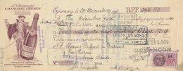Belle Traite Illustrée Du Champagne Chanoine Frères à Hautvillers & A Chouilly, Coteau De Belle-Noue, En 1936 - 1900 – 1949
