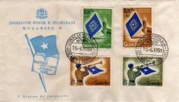 Somalia 1959 FDC Assemblea Costituente - Somalie (1960-...)