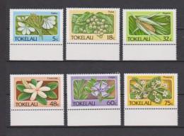 Tokelau Mi 136-141 Flora - Gahu - Puka - Higano - Tialetiale - Gagie - Puapua 1987 * * - Tokelau