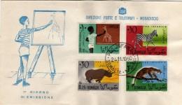 Somalia 1960 FDC Pro Infanzia - Somalie (1960-...)