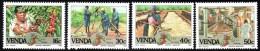 Venda - 1988 Coffee Industry Set (**) # SG 167-170 , Mi 167-170 - Venda