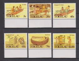 Tokelau Mi 159-164 Christmas - Three Wise Men (Na Makoi) - Holy Family (He Tala) - Escape Into Egypt - 1988 * * - Tokelau