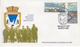 Chile 1997 Antarctica / Base Arturo Prat 2v FDC (F5351) - Chili