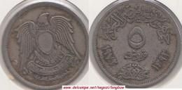 Egitto 5 Piastres 1972 KM#A428 - Used - Egitto