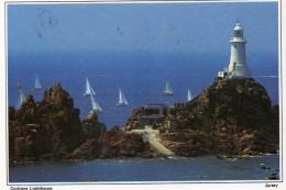 Postcard - La Corbiere Lighthouse, Jersey. ACG08 - Lighthouses