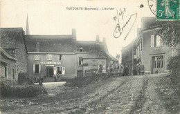 53 - MAYENNE - Vautorte - Arrivée - Hotel L'huissier - - Otros Municipios