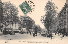 ¤¤  -  808   -  PARIS   -  Boulevard Des Filles Du Calvaire Aux Rue D' Angoulême Et Saintonge    -   ¤¤ - Arrondissement: 03