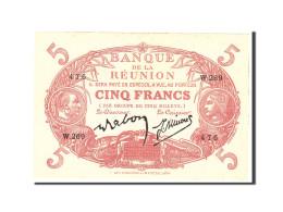Réunion, 5 Francs, 1944, Undated, KM:14, SUP - Papeete (Polynésie Française 1914-1985)
