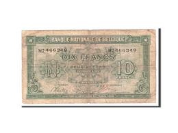 Belgique, 10 Francs-2 Belgas, 1943, KM:122, 1943-02-01, B - [ 2] 1831-... : Koninkrijk België