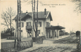 54 - M Et M - Cirey - Gare - Chemin De Fer - Train - Cirey Sur Vezouze