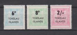 Tokelau Mi S1-3 - Surcharge In Black - 1966 * * - Tokelau