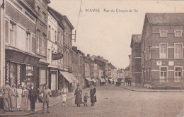 Wavre - Rue Du Chemin De Fer (belle Animation, 1926) - Waver