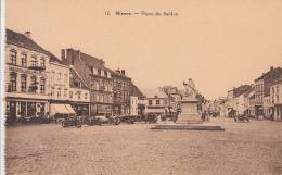 Wavre - Place Du Sablon (animée, Oldtimer) - Waver