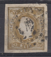 Portugal 1866/67 Nº 20 Usado (margenes Generosos) - 1855-1858 : D.Pedro V