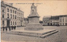 Wavre - La Grand'Place Et La Statue à Léopold 1er (animée, 1911) - Waver