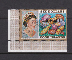 Cook Islands SG O31 1975 Shells,$ 6.00 Queen And Shells Used - Cookeilanden