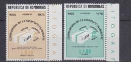 Honduras 1975 Care 2v ** Nh (31060) - Honduras