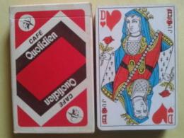 CAFE QUOTIDIEN. Jeu De 32 Cartes. Usagé Dans Une Boite Carton - Playing Cards (classic)