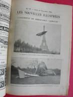 Les Nouvelles Illustrées N° 79 De 1903. Accident Dirigeable Lebaudy Rebouteux Médicastre Indo-chine Folle En Cage - Kranten