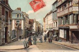 4071. CPA 14 LISIEUX. LA GRANDE RUE - Lisieux
