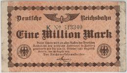 Eine Million Mark / 1 Million Mark - Reichsbanknote - German Reich / Deutsches Reich - Year 1923 - [ 3] 1918-1933 : Weimar Republic
