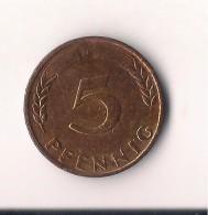ALEMANIA 5 PFENNIG  1950 D - 5 Pfennig