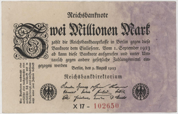 Zwei Millionen Mark / 2 Millionen Mark - Reichsbanknote - German Reich / Deutsches Reich - Year 1923 - 2 Millionen Mark