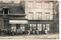 4080. CPA 14 LISIEUX. CAFE DE LA POISSONNERIE. E. PETIT - Lisieux