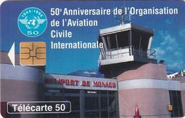 MONACO - Aviation Civile, Heliport De Monaco, Tirage 25000, 06/95, Used - Aerei
