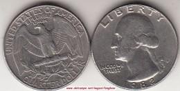 U.S.A. 25 Cents 1982 (Washington) Km#164a - Used - Federal Issues