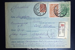 Russia  Registered Cover  1930  Zaporajie Ukaine (Rare) To Magdenburg Germany Mi 379 + 381