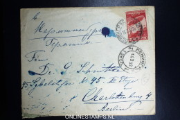 Russia Cover 1933 With Mi 399 To Berlin Germany