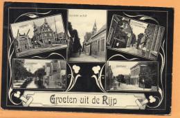 Groeten Uit De De Rijp Netherlands 1900 Postcard - Sonstige