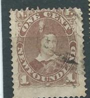 Terre Neuve - Yvert N°35 Oblitéré -   Ad26601 - 1865-1902