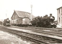 Photographie De Train, Locomotives 230 D Ex Nord, Le Tréport (76), Photos De 1966, Commentaire De Lepage, Gare - Trains