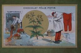 Félix POTIN - Chromo Sujet Botanique - Nature - La Garance - Sert à La Teinture - Imp Champenois - Cioccolato