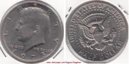 U.S.A. 50 Cents  Half Dollar 1973  Kennedy Km#202b - Used - Federal Issues