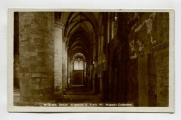 Kirkwall, - S. Aisle, St. Magnus Cathedral. - Orkney