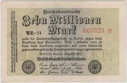 Zehn Millionen Mark / 10 Millionen Mark - Reichsbanknote - German Reich / Deutsches Reich - Year 1923 - [ 3] 1918-1933 : Weimar Republic