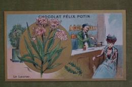 Félix POTIN - Chromo Sujet Botanique - Nature - Le Laurier - Imp Champenois - Cioccolato
