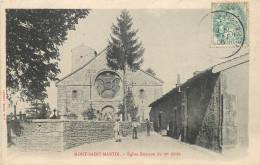 54 - M Et M - Mont Saint Martin - Eglise Romane - Mont Saint Martin