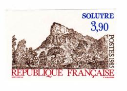 TIMBRES FRANCE NON DENTELES N°2388a SERIE TOURISTIQUE, SOLUTRE - NEUF SANS CHARNIERES - No Dentado