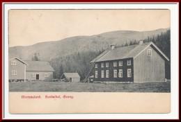 ★★ MORTENSLUND. SANDØLDAL, GRONG  1913 ★★ MORTENSLUND. SANDØLDAL, GRONG, NORD TRØNDELAG NORWAY & - Noruega