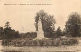 LIMOURS . MONUMENT AUX MORTS DE LA GRANDE GUERRE 1914 - 1918 . - Limours