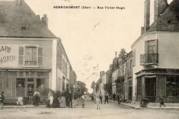 HENRICHEMONT - 18 - Rue Victor Hugo - Café Morin - Belle Animation - 78378 - Henrichemont