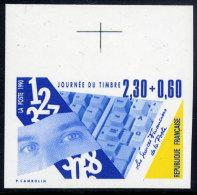 FRANCE N° 2639 JOURNEE DU TIMBRE NON-DENTELE - France